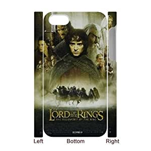 LSQDIY(R) the lord of the rings iPhone 4,4G,4S 3D Cover Case, DIY iPhone 4,4G,4S 3D Case the lord of the rings