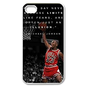 Michael Jordan Original New Print DIY Phone Case for iphone 5 5s personalized case cover ygtg-353438