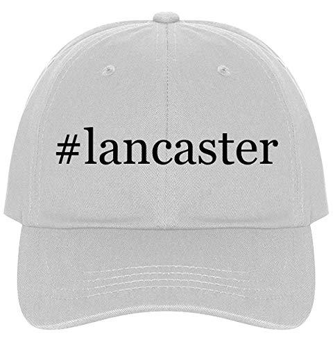 #Lancaster - A Nice Comfortable Adjustable Hashtag Dad Hat Cap, White