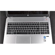 Bodu Clear Transparent TPU keyboard Protector Cover for HP Pavilion 15, G15; HP Compaq CQ15; Envy Touchsmart Sleekbook m6, m7, 17, 17t, such as 15-b***, 15-d***, 15-e***, 15-g***, 15-j***, 15-n***, 15t-e***, 15z-b***, 15z-e***, 15z-j*** series