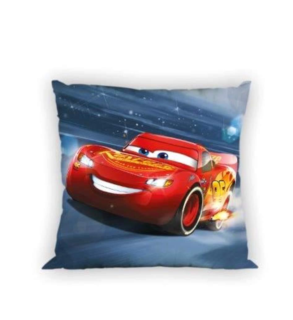 Senza Imbottitura con Motivo Pixar Cars 40 x 40 cm Cotone Cars 02 Disney Federa per Cuscino per Bambini 40 x 40 cm
