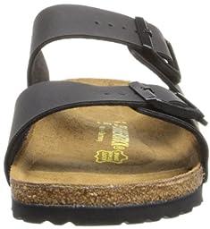 Birkenstock Unisex Arizona Slide Fashion Sandals, Black Leather, 44 N