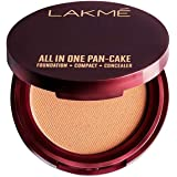 Lakmé All In One Pan-Cake, Natural Pearl, 8 g