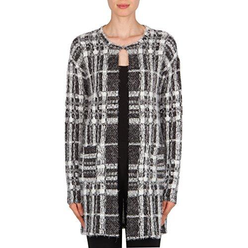 Joseph Ribkoff Mohair-Like Knit Tunic Length Jacket Style 174836 Size 14 by Joseph Ribkoff