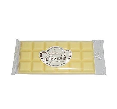 3 x gr 100 tabletas de Chocolate Blanco Dulcinea Perugia tableta de alta calidad, Top Quality White Chocolate: Amazon.es: Hogar