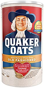 Quaker Oats Old Fashioned Oatmeal, 18 oz Canister