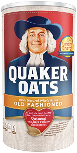 - Quaker Oats, Old Fashioned, 18 Oz
