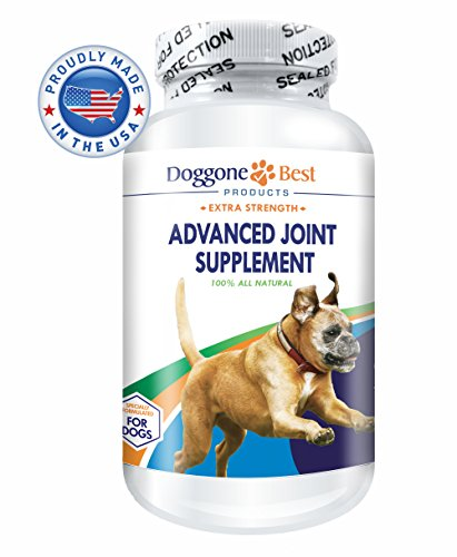 Glucosamine for Dogs - All Natural Glucosamine, Chondroitin, MSM & Tart Cherry Is The Best Joint Supplement To Relieve Hip & Joint Pain - Tasty Chewable Tablets Your Dog Will Love - Made in the USA -