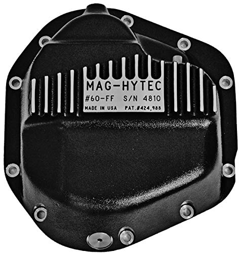 Mag-Hytec Front Differential Cover 03-12 Dodge Ram 2500 & 3500 Standard Diesel and High Output / Gas Engines w/ 14-9.25 axle ()