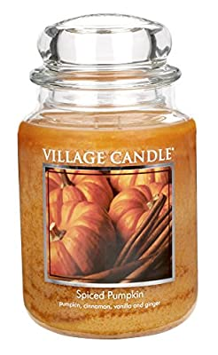 Village Candle Jar