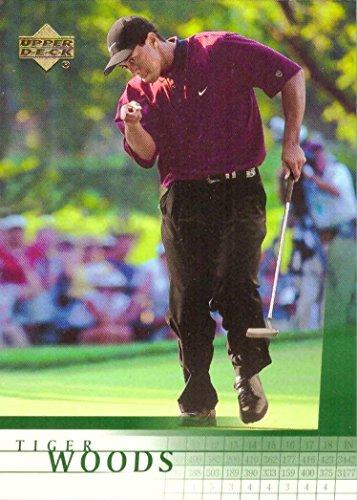 2001 Upper Deck Golf #1 Tiger Woods Rookie Card