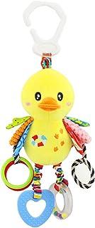 Newin Star Giocattoli da Appendere Passeggino Giocattoli e Passeggino Letto Culla Appesa Sonaglio per Neonati e Bambini (Pollo Giallo)