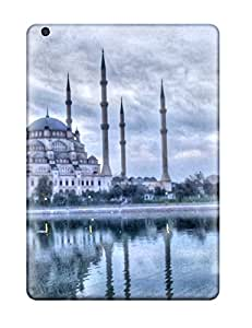 NqK9555GpPJ Anti-scratch Cases Covers Diamondcase2006 Protective Pure Blue Mosque Resolution Cases For Ipad Air