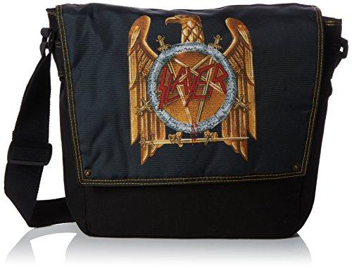 Price comparison product image Bioworld Slayer Eagle Crest Print Black Messenger Bag