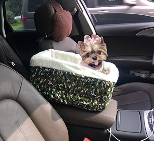 center console pet car seats meago console booster dog seat cashmere cream fur for small pets. Black Bedroom Furniture Sets. Home Design Ideas