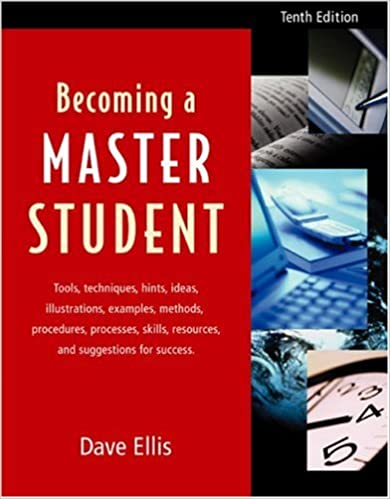 Becoming a master student tenth edition david ellis 9780618206780 becoming a master student tenth edition 10th edition fandeluxe Gallery