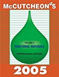 McCutcheon's Functional Materials : International Edition, , 1933430044