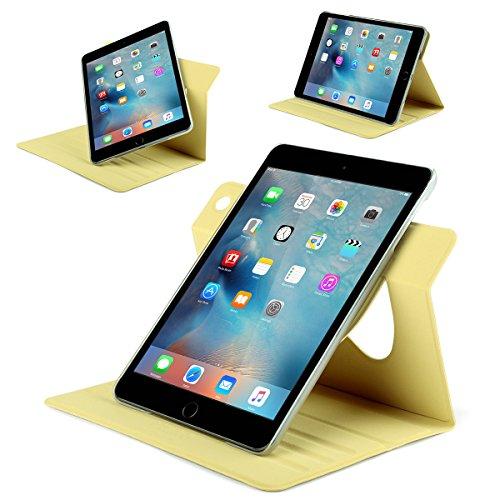 iPad Mini 3 Case,iPad Mini Case,ULAK Ultra Slim 360 Rotating Smart Stand Case Cover for Apple iPad Mini 1/ iPad Mini 2/ iPad Mini 3 with Sleep/Wake Feature (Champagne Gold) Photo #7