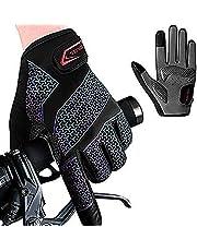 Fietshandschoenen Fietshandschoenen Mountainbike Handschoenen Anti-slip Schokabsorberende Pad Ademende Halve Vinger Fiets Fietshandschoenen Voor Mannen En Vrouwen