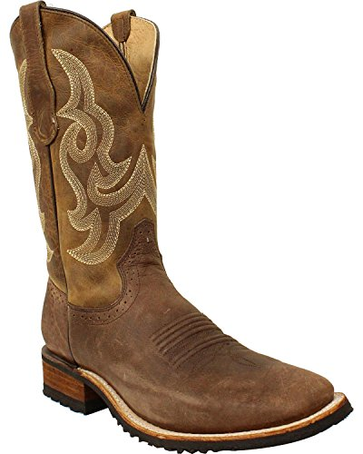 Corral Hombres Leather Bota Square Toe - L5301 Tan