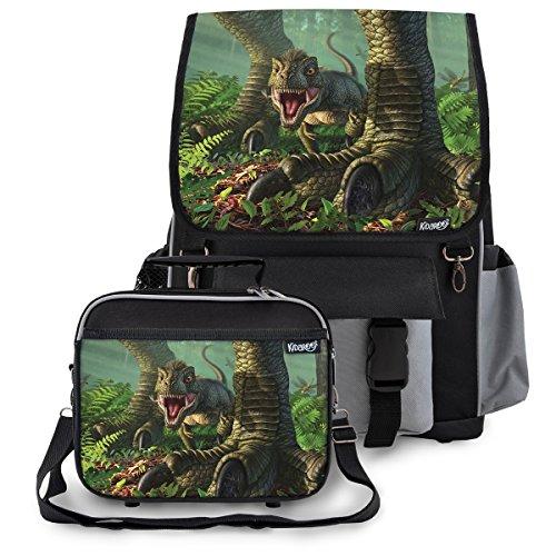 Black Patent Lunch Bag - 9