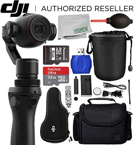 DJI OSMO+ Plus Handheld Fully Stabilized 4K Camera Starters Bundle (Exposures Film 12)