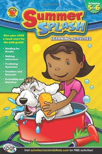 Summer Splash Learning Activities, Grades 5 - 6 ebook