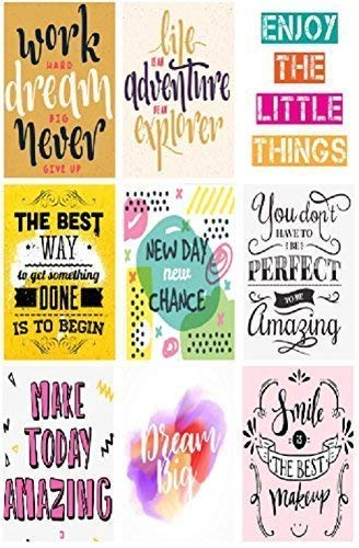 0226-9 Positive Motivational Planner Stickers Handmade