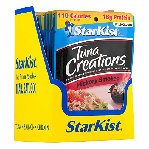 StarKist Tuna Creations, Hickory Smoked, 2.6 oz pouch (Pack of 24) (Packaging May Vary)