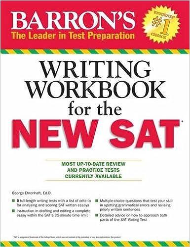 New SAT writing?