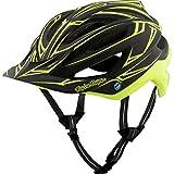 Troy Lee Designs A2 MIPS Helmet Pinstripe Black/Yellow, XL/XXL
