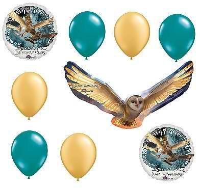 LEGEND OF THE GUARDIANS: Owls of Ga'Hoole BIRTHDAY PARTY Balloons Decorations Supplies (Owl Party Balloons)
