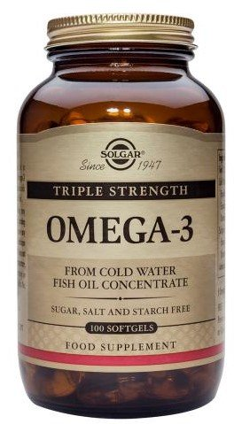 Solgar Triple Strength Omega 3 Supplement product image