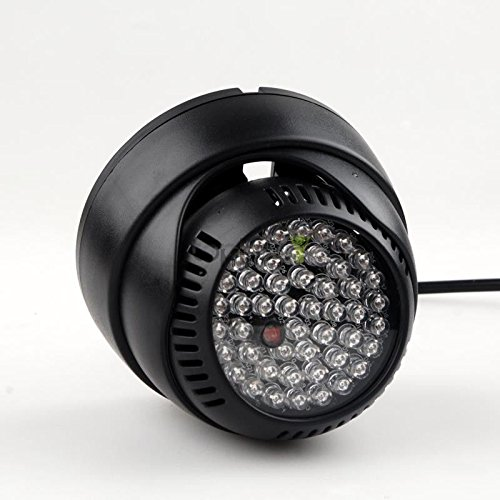 48 LED 12V Illuminator IR Infrared Night Vision Light Security Lamp For CCTV (12 Infrared Illuminator)
