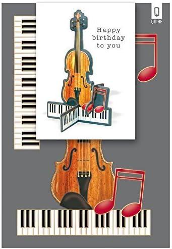 Tarjeta de felicitación de guitarras acústicas Feliz cumpleaños ...