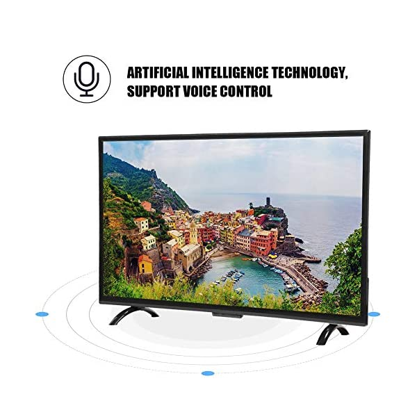 """55"""" Large Smart 4K HDR HD TV Monitor Curved Screen Narrow Border Television 3000R Curvature Support Artificial Intelligence,Network Version 110V 2"""