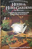 img - for Herbs and Herb Gardens of Britain book / textbook / text book