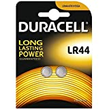 Duracell Specialty LR44 Alkaline Button Battery 1,5V, pack of 2 (76A/A76/V13GA) designed for use in toys, calculators and measurement devices