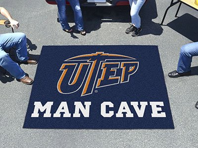 Rug Utep Tailgater (Fanmats 22359 Utep Man Cave Tailgater Rug)
