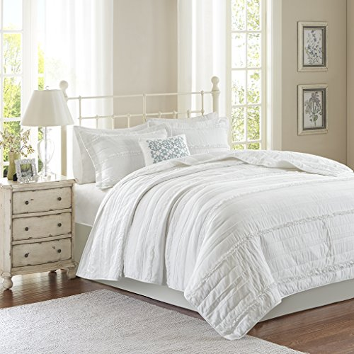Madison Park MP13-2533 Celeste 4 Piece Coverlet Set,