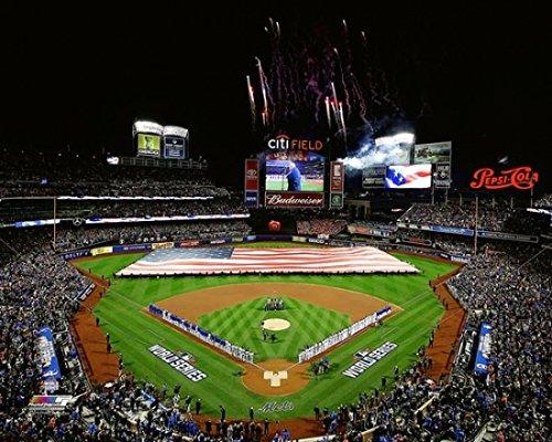 Citi Field Game 3 of the 2015 World Series Photo Print (16 x 20)