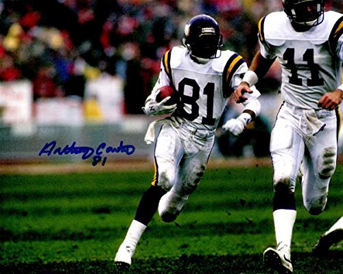 Anthony Carter Minnesota Vikings - Autographed Signed Anthony Carter 8x10 Minnesota Vikings Photo - Certified Authentic