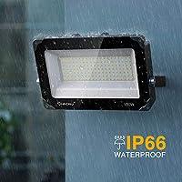 Onforu 100W Foco LED Exterior (2 Pack) 10000LM Super Potente ...