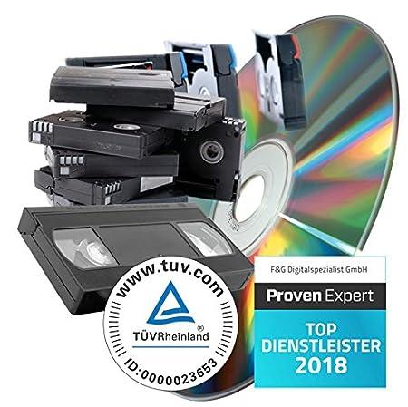 Videokassetten digitalisieren (60 Minuten) digitalspezialist Video-SD-60-digital