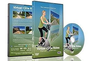 Virtuelle Fahrradstrecken - Italienische Dolomiten - für Indoor-Cycling,...