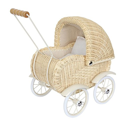 DOLLS PRAM WICKERWORK by Legler