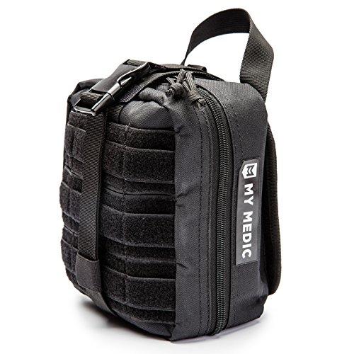 (My Medic MyFak Backpack First Aid Kit (Black, Premium))