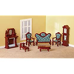 Collectible Mini Living Room Furniture Set - 7 pc