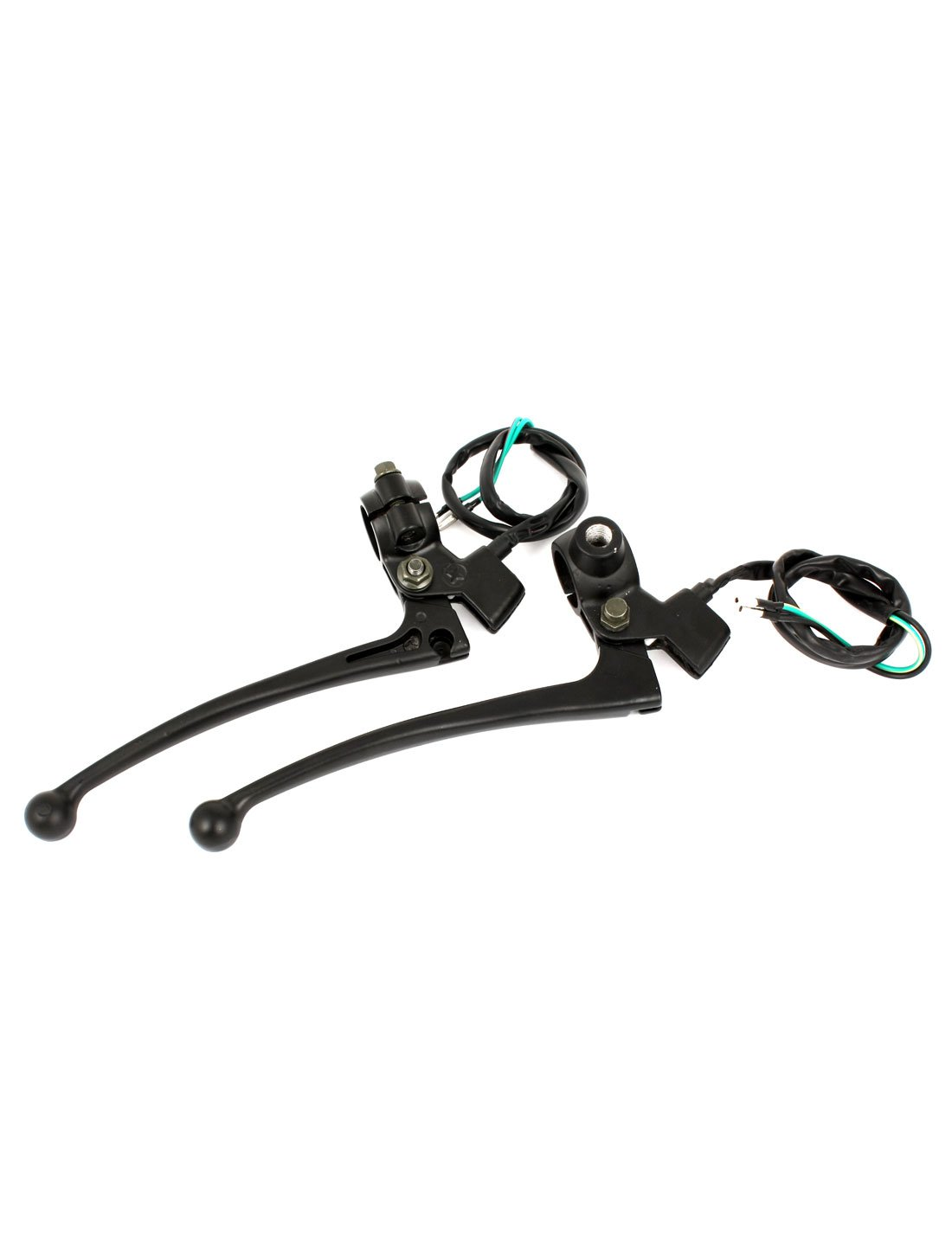 Amazon.com: uxcell Scooter Motorcycle Left Right Brake Handle Bar Switch Controller Set DC 12V/24V: Automotive