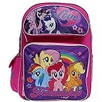 "My Little Pony Pink & Purple""Friendship"" 16"" Large Girls' School Backpack"